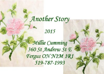 quilt label Another Story 2015