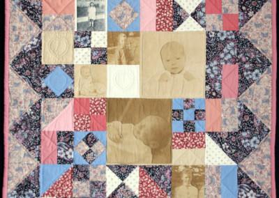 Andrew`s baby quilt, 1993