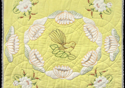 Waterlilies And Wedding Rings Quilt
