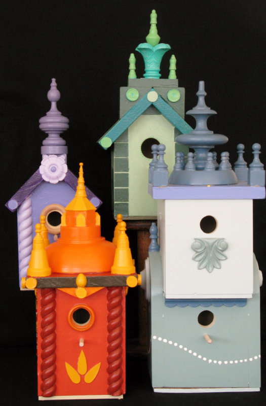 Birdhouses - current work