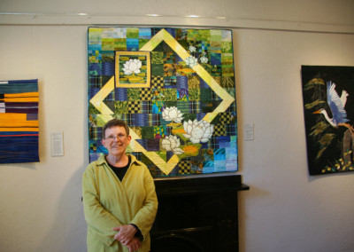 Grand National at Homer Watson Gallery- Millie with Reflections, Waterlily Bay II, 2013