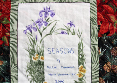 Label on Seasons, 2000