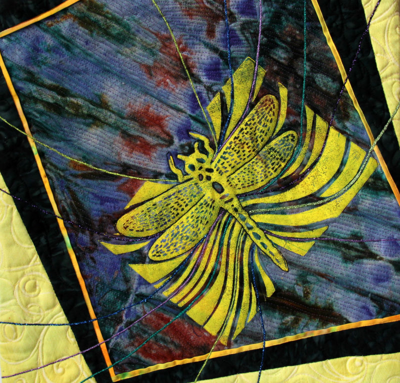 Dragonfly 2 quilt