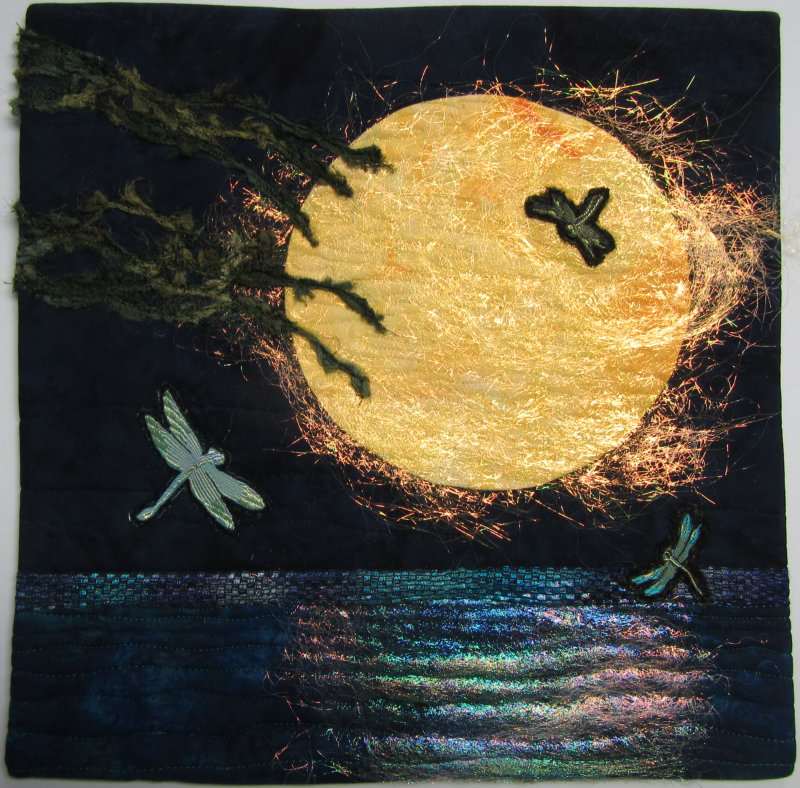 Dragonfly Dance 2 quilt