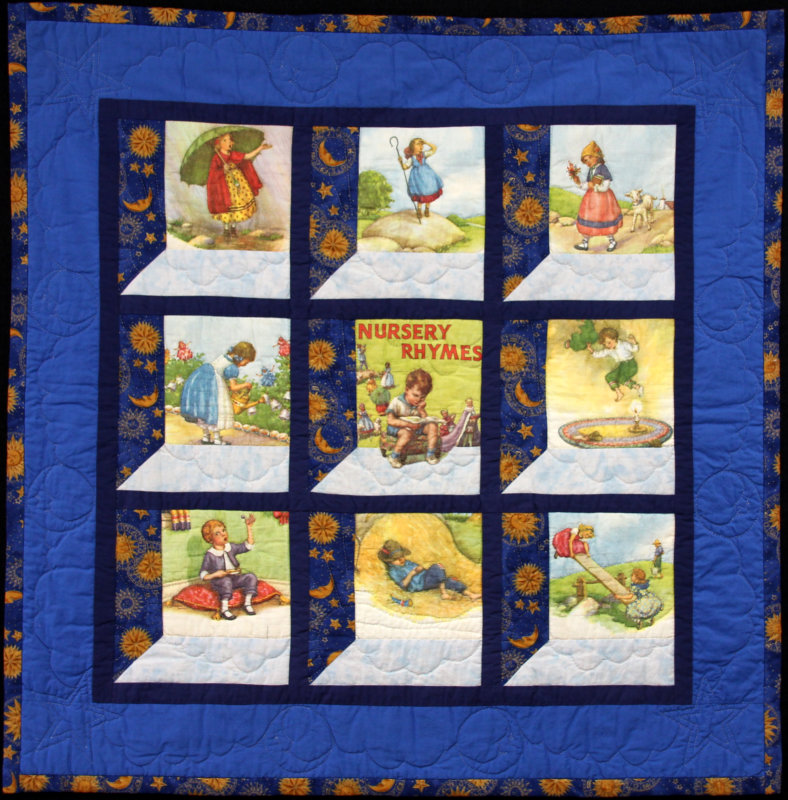 Andrew`s nursery rhyme quilt