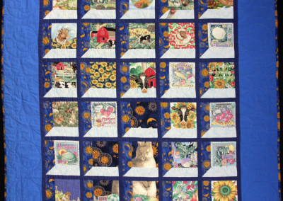 Andrew`s big boy quilt, 1994