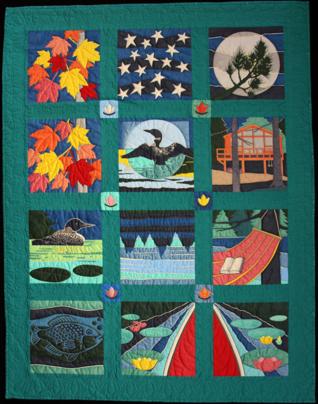 Lost Channel quilt