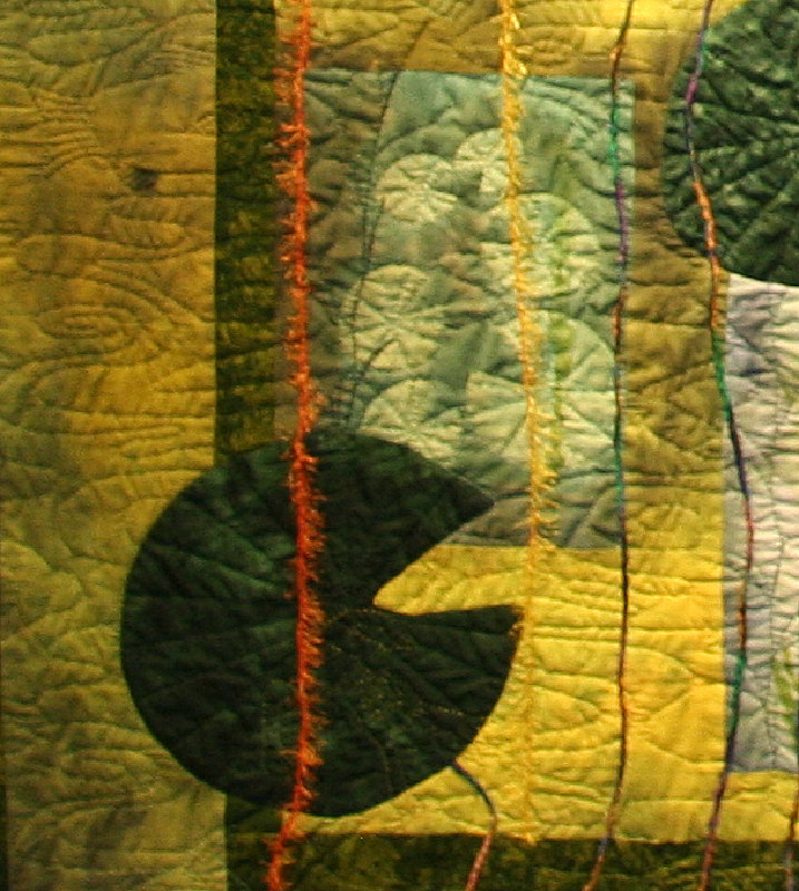 Tranquility quilt detail 1
