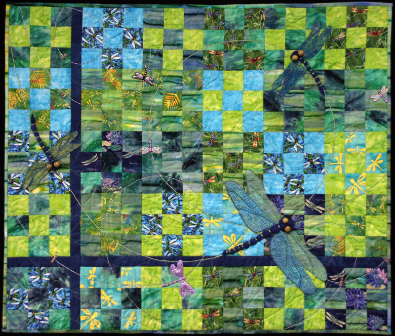 Dragonfly Dance quilt