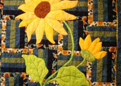 Sunflowers For Linda Quilt