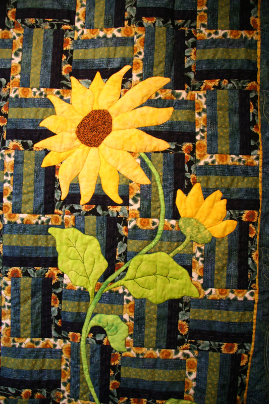 Sunflowers for Linda, 2007