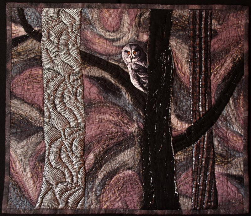 Muskoka Nocturne quilt
