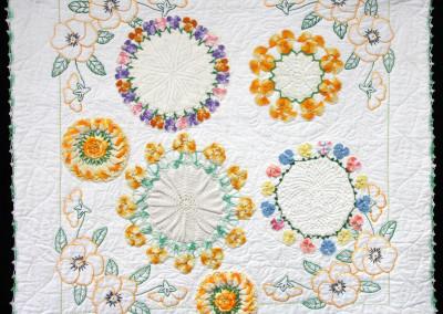 Pansy Garden quilt