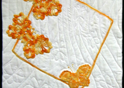Marigolds and Butterflies quilt