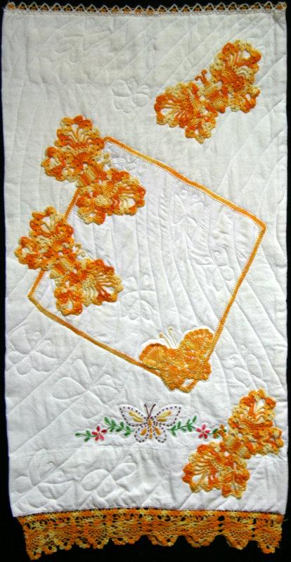 Marigolds and Butterflies quilt