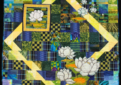 Reflections, Waterlily Bay II Quilt