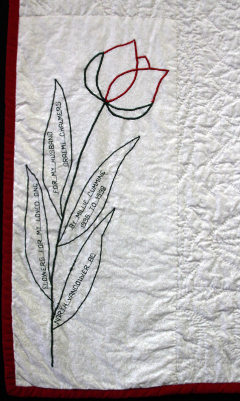 Label on Flowers for My Loved One, 1998