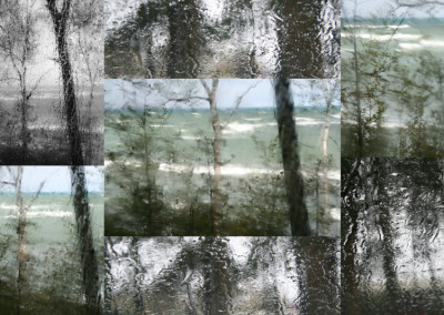 Lake Huron Rain Collage