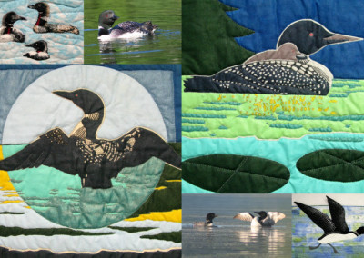 Loon Collage For Studio Tour 2012