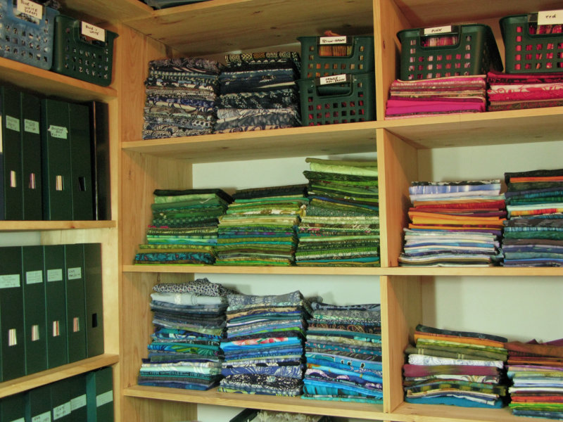 Studio fabric and files