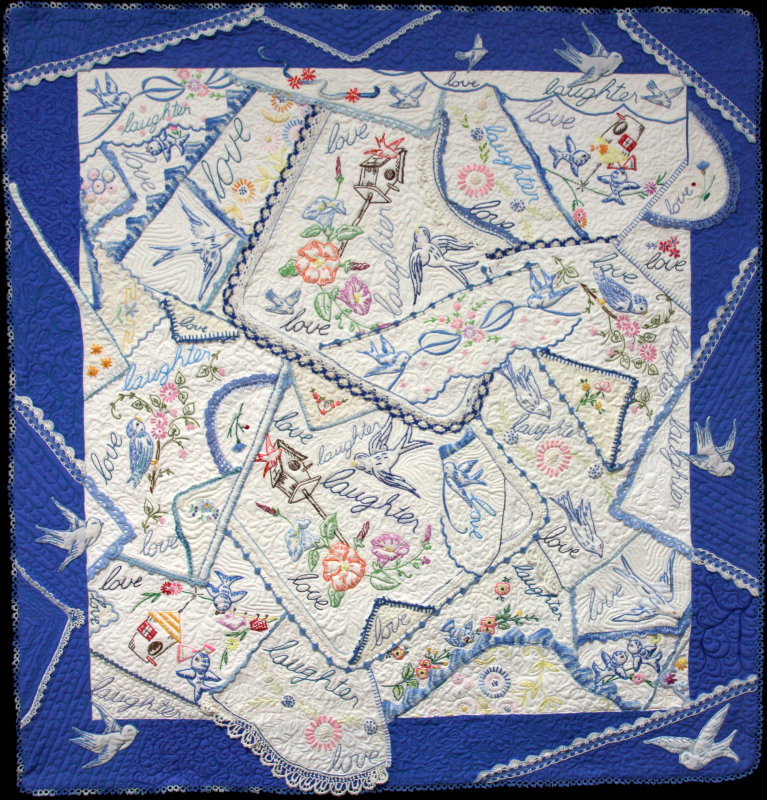Love and Laughter quilt
