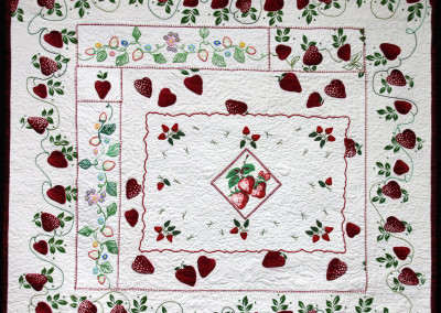 Forever (Strawberry Fields) Quilt