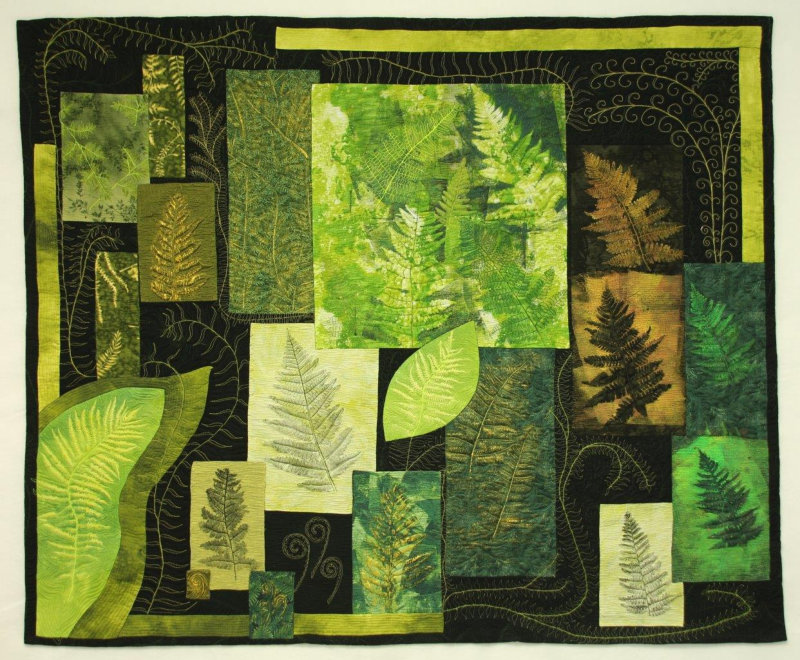 Muskoka Canon, late afternoon Quilt, Millie Cumming