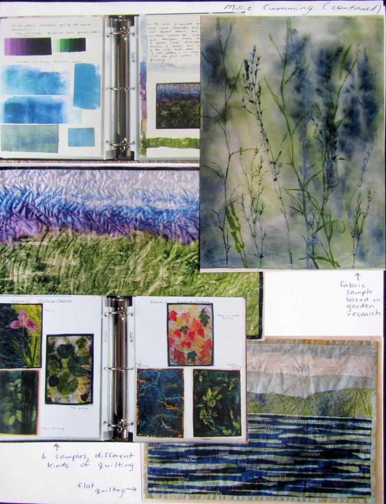Millie's sketchbooks and journals