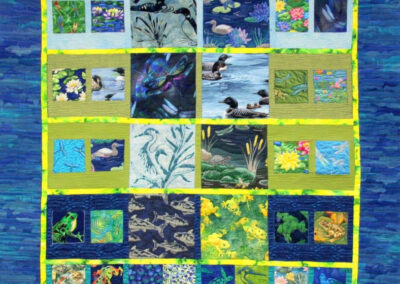 cottage quilt for Caryll, Millie Cumming